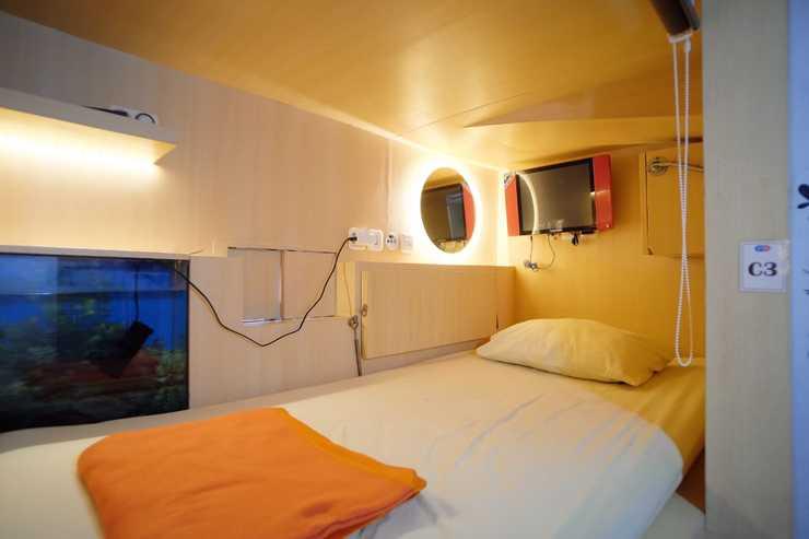 INAP at Capsule Hotel Bandung